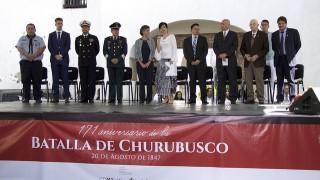 Recuerdan el 171 Aniversario de la Batalla de Churubusco