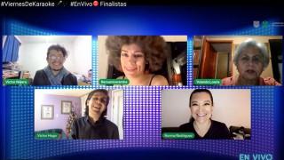 Ganadores del Viernes de Finalistas del Karaoke desde tu Casa invitan al público a vivir la experiencia