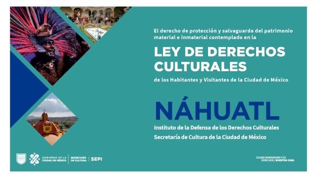 Náhuatl Cartilla de Derechos Culturales