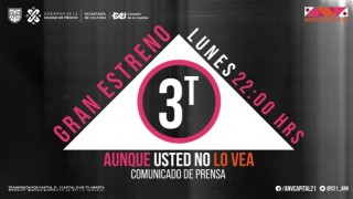 "CAPITAL 21 ESTRENA TERCERA TEMPORADA DE ""AUNQUE USTED NO LO VEA"""